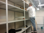 Open Shelving installation, moving and repair