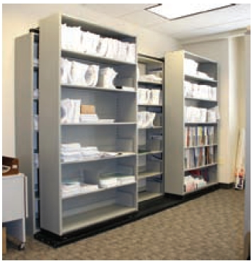 filing shelves for medical charts 2